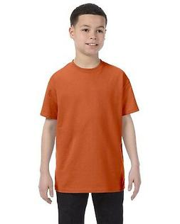 5000B Gildan T-Shirt Crew Heavy Cotton Youth 5.3 oz. Kids'