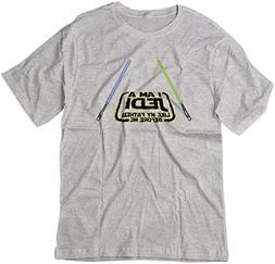 BSW Men's I am a Jedi Like My Father Before Me Star Wars Shi