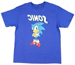 Bioworld Sonic The Hedghog Sonic Big Boys T-Shirt