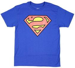 Bioworld Superman Boys Glow in The Dark Youth T-Shirt