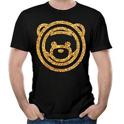 Men's Ozuna Bear Logo Vintage Tees Youth Vintage Shirts Blac