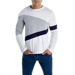 Clearance Sale! Wintialy Fashion Men's Casual Patchwork Slim