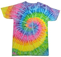 Colortone Tie Dye T-Shirt SM Saturn