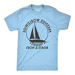 Crazy Dog T-Shirts Mens Prestige Worldwide Boats and Hoes Ts