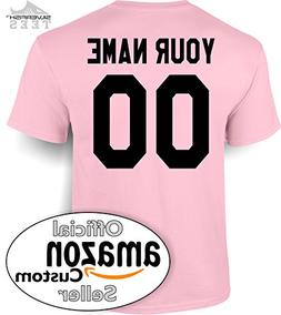 Customized Your Name/Number Personalized Jersey T-Shirt Men/
