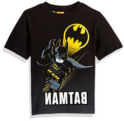 DC Comics Little Boys' Lego Batman T-Shirt, Black, 7
