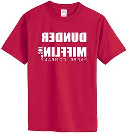 DUNDER MIFFLIN PAPER COMPANY T-Shirt~Independence Red~Youth-