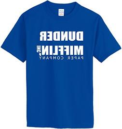 DUNDER MIFFLIN PAPER COMPANY T-Shirt~Royal Blue~Youth-SM