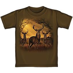 Deer Herd Sunrise Youth Tee Shirt