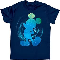 Disney Galactic Mickey Mouse Navy Blue Youth T-Shirt