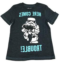 DisneyParks Star Wars Stormtrooper Here Comes Trouble Boys Y