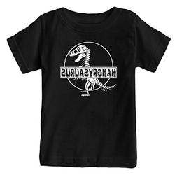Fantastic Tees Dinosaur Hangry Saurus World Funny T-Shirt