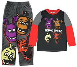 Five Nights at Freddy's Game Over Four Heads Two Piece Youth
