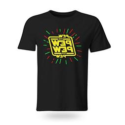 Funny Shirt Outfit - Youth Star Wars Pew Logo Boy Funny T Sh