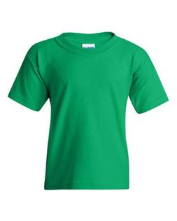 Gildan Heavy Cotton Youth 5.3 oz. T-Shirt - IRISH GREEN,XS