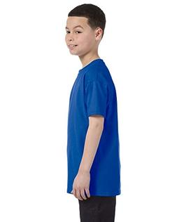 Gildan Heavy Cotton Youth Tshirt - Royal - XL