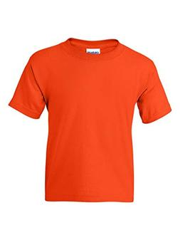 Gildan Youth DryBlend 5.6 oz., 50/50 T-Shirt - ORANGE - S