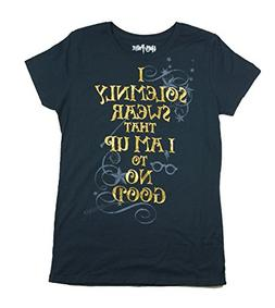 Harry Potter Youth Girls Fashion Top Solemnly Swear T Shirt,