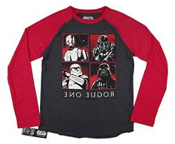 Hybrid Apparel Star Wars Rogue One Characters Boys Long Slee
