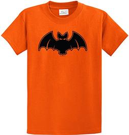 Joe's USA tm Youth Halloween Bat Costume Orange T-Shirt-S