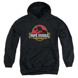 Jurassic Park 25Th Anniversary Logo Unisex Youth Pull-Over H
