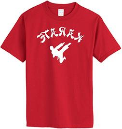 KARATE T-Shirt~Red~Youth-SM