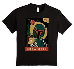 Kids Star Wars Boba Fett Vintage Trading Card '77 Graphic T-