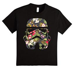 Kids Star Wars Tropical Stormtrooper Floral Print Graphic T-
