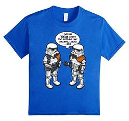 Kids Star Wars Wrong Droids Funny Comic Graphic T-Shirt 12 R