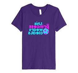 Kids This Princess Wears Cleats T-Shirt Girls Soccer Player