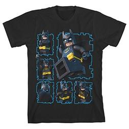 Lego Batman Youth Boys Black T-Shirt