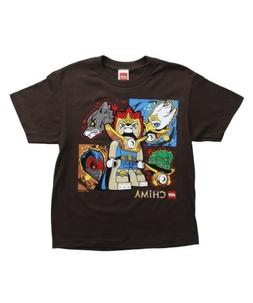 Lego Chima Critter Camp Boys T Shirt )