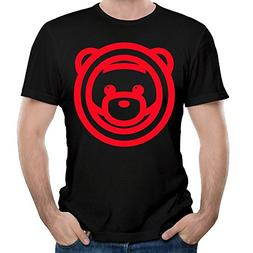 Mens Ozuna Bear Logo Fashion T Shirts Youth Particular Shirt