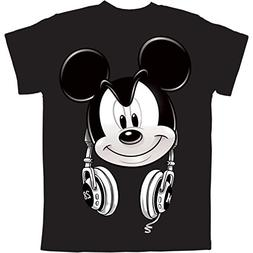 Mickey Mouse Headphones Big Boys Graphic T Shirt )