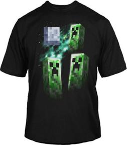 Minecraft Three Creeper Moon Officially Licensed Authentic Y