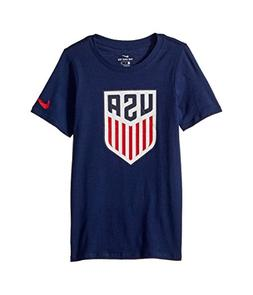 NIKE USA 2018 Youth T-Shirt- Navy YL