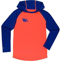New Balance Big Boys' Athletic Hooded Pullover Top, Team Roy