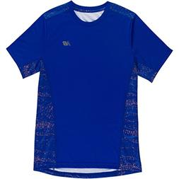 New Balance Little Boys' Short Sleeve Performance Tee, Royal