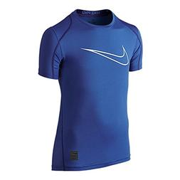 Nike Pro Cool HBR Fitted Boys Short-Sleeve Top