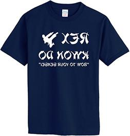 Rex Kwon Do T-Shirt~Navy Blue~Youth-SM