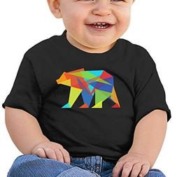 Sabina Harriman Boy' Girls' Mountain Bear Colorful Summer Sh