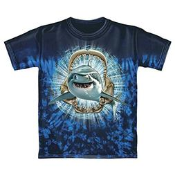 Shark Tie-Dye Youth Tee Shirt