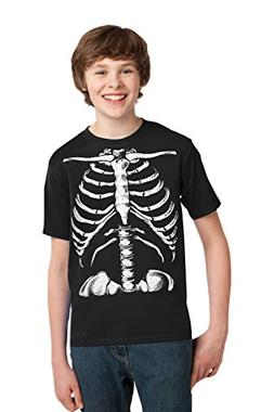 Skeleton Rib Cage | Jumbo Print Novelty Halloween Costume Yo