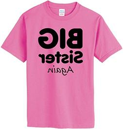 South Horizon Big Sister, Again T-Shirt~Azalea~Youth-SM