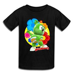 Spreadshirt Gummibär Flowers Gummy Bear Kids' T-Shirt, Yout