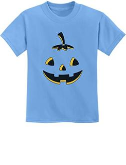 Tstars Jack O' Lantern Cute Smiling Pumpkin Halloween Youth
