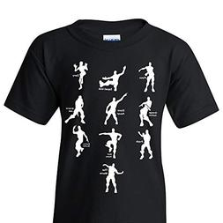 UGP Campus Apparel Emote Dances - Funny Youth T Shirt - Medi