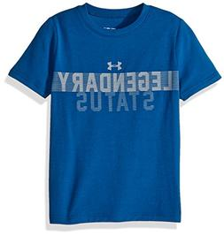 Under Armour Boys' Legendary Status T-Shirt, Moroccan Blue /