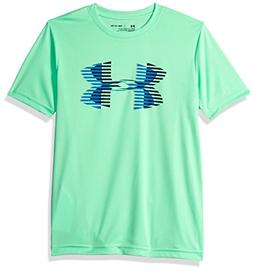 Under Armour Boys Tech Big Logo Solid T-Shirt, Youth Medium,