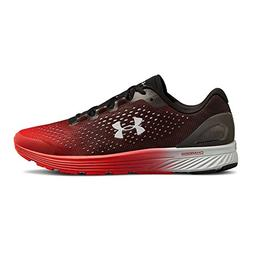 Under Armour Men's Charged Bandit 4 Running Shoe, Black /Red